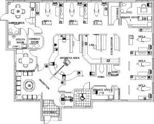 Unique interior designs for Unique office layouts
